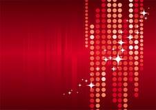 Rode vakantieachtergrond Royalty-vrije Stock Foto