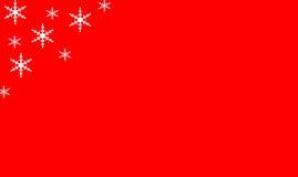 Rode Vakantieachtergrond met WhiteStars Stock Foto's