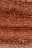 Rode van het Bakstenen muurpatroon Grungy Staande richting Als achtergrond royalty-vrije stock foto's