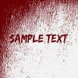 Rode vectorbloow ploetert Textuur Stock Foto's
