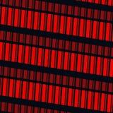 Rode vensters Royalty-vrije Stock Foto