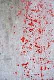 Rode verf Stock Afbeeldingen