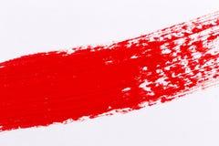 Rode verfplons Stock Fotografie