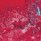 Rode verftextuur Royalty-vrije Stock Afbeelding