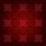Rode vierkante victorian Stock Foto's