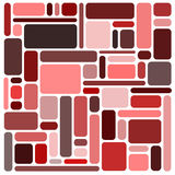 Rode vierkantenachtergrond Stock Afbeelding