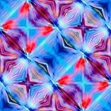 Rode violette en blauwe kleur Stock Foto