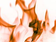 Rode vlammen Royalty-vrije Stock Foto