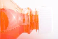 Rode vloeistof. Royalty-vrije Stock Afbeeldingen