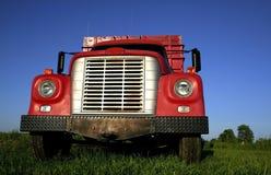 Rode Vrachtwagen Stock Fotografie