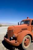 Rode vrachtwagen Royalty-vrije Stock Fotografie