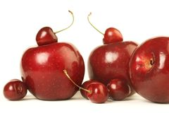 Rode vruchten Royalty-vrije Stock Fotografie