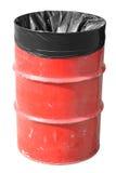 Rode Vuilnisbak royalty-vrije stock afbeeldingen