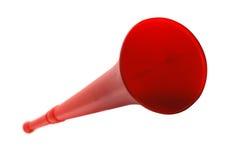 Rode vuvuzela Stock Afbeelding