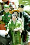Rode Wachten en Chinese Cul Royalty-vrije Stock Fotografie