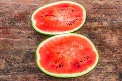 Rode watermeloen Stock Foto