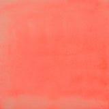 Rode Waterverfabstractie als Achtergrond Stock Afbeeldingen