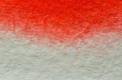 Rode waterverfachtergrond Stock Afbeelding
