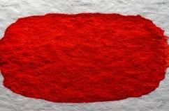 Rode waterverfachtergrond Royalty-vrije Stock Fotografie