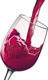 Rode wijn Stock Illustratie
