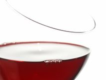 Rode wijn Royalty-vrije Stock Afbeelding