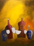 Rode wijn vector illustratie