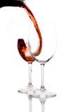 Rode wijn Royalty-vrije Stock Fotografie