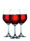 Rode wijn Stock Afbeelding