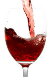 Rode Wijn Royalty-vrije Stock Foto's