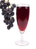 Rode wijn in een glas Royalty-vrije Stock Afbeelding