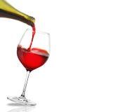 Rode Wijn het Gieten royalty-vrije illustratie