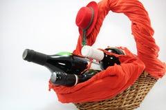 Rode Wijnregeling. Royalty-vrije Stock Afbeelding