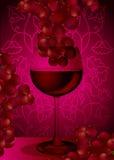 Rode wijnstok Royalty-vrije Stock Afbeelding