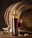 Rode wijnstok Royalty-vrije Stock Foto
