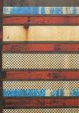 Rode witte blauwe grunge Stock Afbeelding
