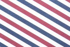 Rode, witte en blauwe strepen voor achtergrond Royalty-vrije Stock Afbeelding