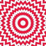 Rode witte opp stock illustratie
