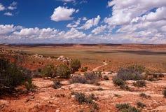 Rode Woestijn royalty-vrije stock fotografie