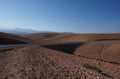 Rode woestijn royalty-vrije stock foto