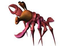 Rode zeekreeft vector illustratie