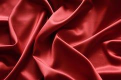 Rode zijde stock afbeeldingen