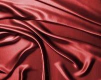 Rode zijde stock fotografie