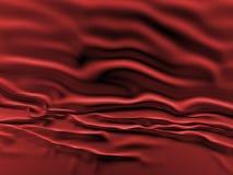 Rode zijdeachtergrond Stock Foto