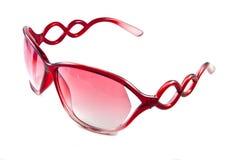 Rode zonnebril Stock Foto's