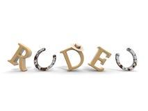 Rodeio Imagens de Stock Royalty Free