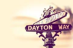 Rodeio Dayton Beverly Hills imagens de stock