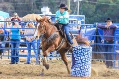 Rodeio de 2018 FAWE Foto de Stock Royalty Free