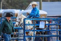 Rodeio de 2018 FAWE Imagens de Stock Royalty Free