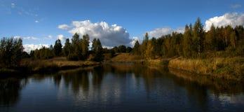 Środek rzeka Zdjęcie Royalty Free