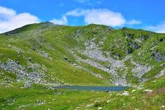 Rodella lake, sud tyrol italy. Rodella lake, Velturno, 2196 meters sud tyrol italy stock photography